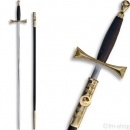 Ceremonial Knights Templar / Masonic Sword with scabbard