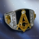 "Masonic Ring ""Square & Compass"""