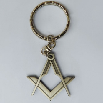 Keyring Square and Compass
