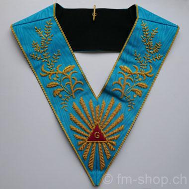 7ec3d9ec70110 Masonic Master Collar very rich Embroidery - Freemasons Shop