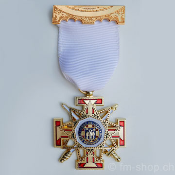 33° Degree Breast Jewel, Scottish Rite